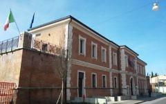 Le Musée national du judaïsme italien et de la Shoah, MEIS, à Ferrare, en Italie. (Crédit : Emilio2005/Wikimedia Commons/CC BY-SA 4.0)