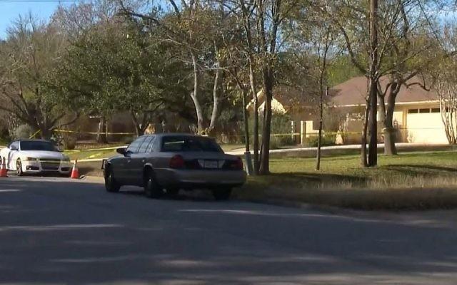 Capture d'écran d'une vidéo d'un meurtre-suicide présumé d'un Israélien et de sa fille, au Texas, le 11 décembre 2017. (Crédit : YouTube)