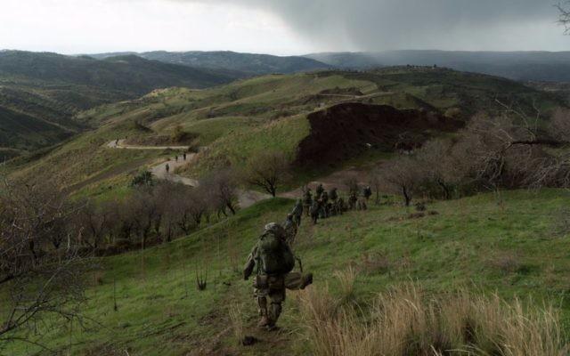 Entraînement des forces israéliennes à Chypre (Capture d'écran : WhatsApp)