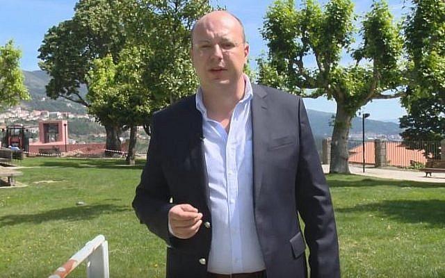 Marco Baptista (Capture d'écran : YouTube)