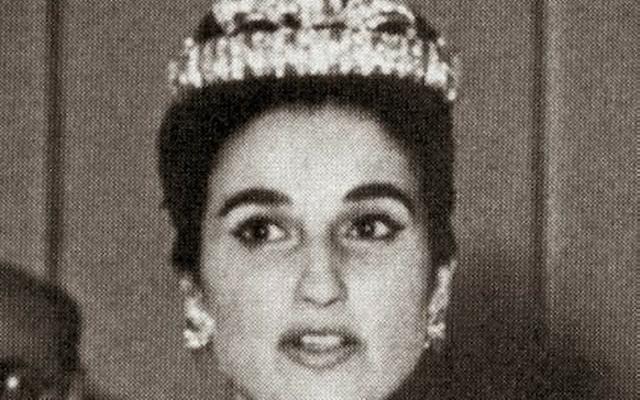 Carmen Franco le jour de son mariage (Crédit : Jorinosa/ Creative Commons Attribution-Share Alike 4.0 International/Wikimedia)