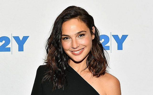 "Gal Gadot au ""92nd Street Y"", le 1er octobre 2017 à New York. (Dia Dipasupil/Getty Images via JTA)"