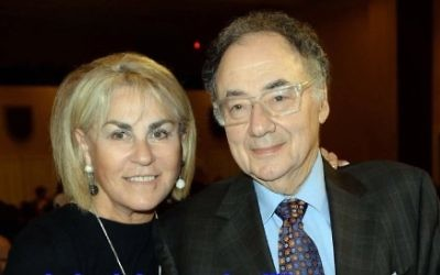 Barry et Honey Sherman (Capture d'écran : YouTube)