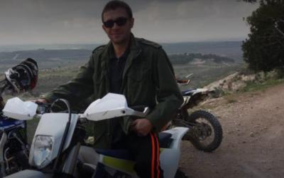 Une photo non-datée d'Artyom Vilov, 37 ans, dont le corps a été trouvé le 31 décembre à la décharge de  Hiriya dans le centre d'Israël (Autorisation de la victime)