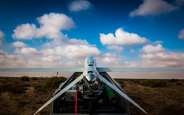 Un nouveau modèle plus grand du drone Skylark de l'armée israélienne (Forces de défense israéliennes)
