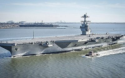 L'USS Gerald R. Ford. (Domaine public)