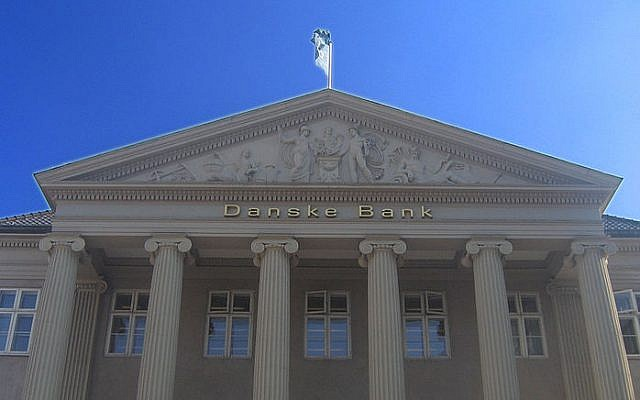 Le siège de Danske Bank à Kongens Nytorv à Copenhague, au Danemark. (CC BY-SA Wikimedia Commons)