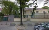 Extérieur de l'ambassade d'Israël à Varsovie, Pologne (Crédit : capture d'écran Google Street)