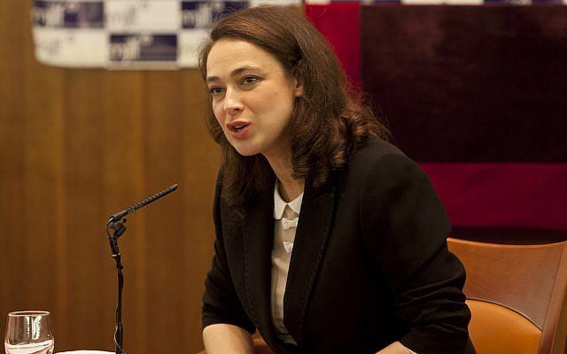 Le rabbin Delphine Horvilleur. (Crédit : autorisation de MJLF)