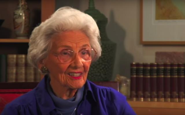 Connie Sawyer, la doyenne des actrices de Hollywood, est décédée à l'âge de 105 ans. (YouTube)