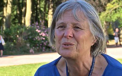 Jacqueline Cuche, présidente de l'amitié judéo-chrétienne de France (Crédit: capture d'écran Youtube)