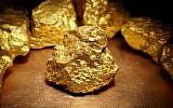 Photo d'illustration de pépites d'or (Crédit : bodnarchuk, iStock by Getty Images)