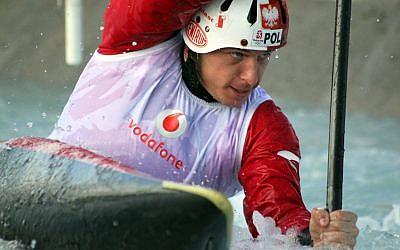 Photo du kayakiste Dariusz Popiela (crédit : site Internet de Popiela)