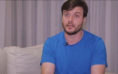 Jérémie Brabet Adonaljo, fondateur de la start-up Pzartech, qui réalise des pièces de rechanges pour l'industrie grace à des camera 3D (Crédit: capture d'écran WProject)