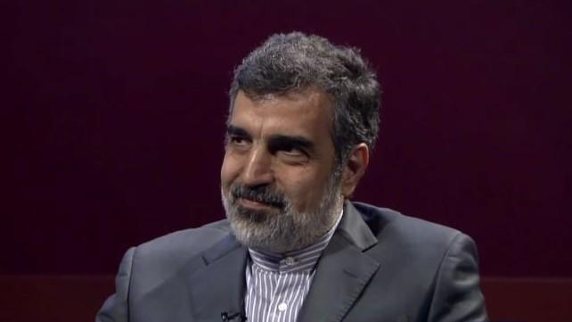 Le porte-parole de l'Agence iranienne de l'énergie atomique Behrouz Kamalvandi