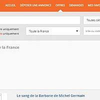 Capture d'écran du site Le Bon Coin (Crédit: capture d'écran)