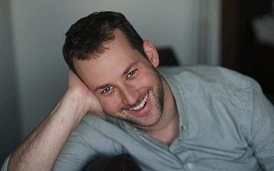 Elhanan Miller, étudiant rabbinique et ancien correspondant pour le Times of Israel. (Crédit : Bruria Hammer)