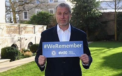 Roman Abramovich, propriétaire de Chelsea (publié avec l'autorisation du club de football de Chelsea)