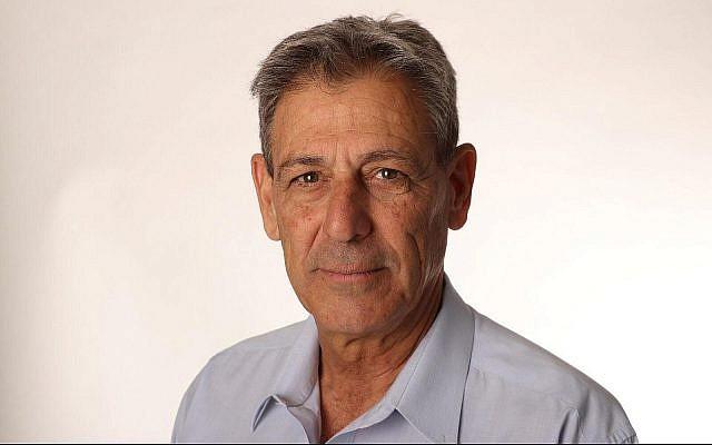 Photo non datée de Ram Ben Barak, ancien directeur adjoint du Mossad, difusée par le parti Yesh Atid. (Autorisation)