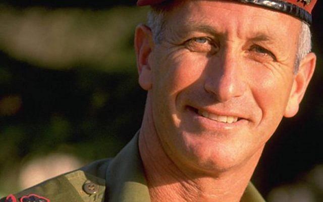 Le général de division réserviste Doron Rubin, décédé le 19 janvier 2018 (Crédit : Armée israélienne)