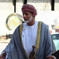 Le ministre des Affaires étrangères omanais Yussef bin Alawi arrive pour assister à la 136e réunion ordinaire du Conseil de coopération du Golfe (CCG), le 15 septembre 2015, dans la capitale saoudienne Riyad. (AFP Photo/Fayez Nureldine)
