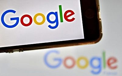 Mogo de la multinationale américaine Google (AFP PHOTO / LOIC VENANCE)