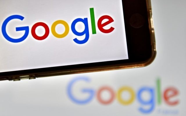 Logo de la multinationale américaine Google (AFP PHOTO / LOIC VENANCE)