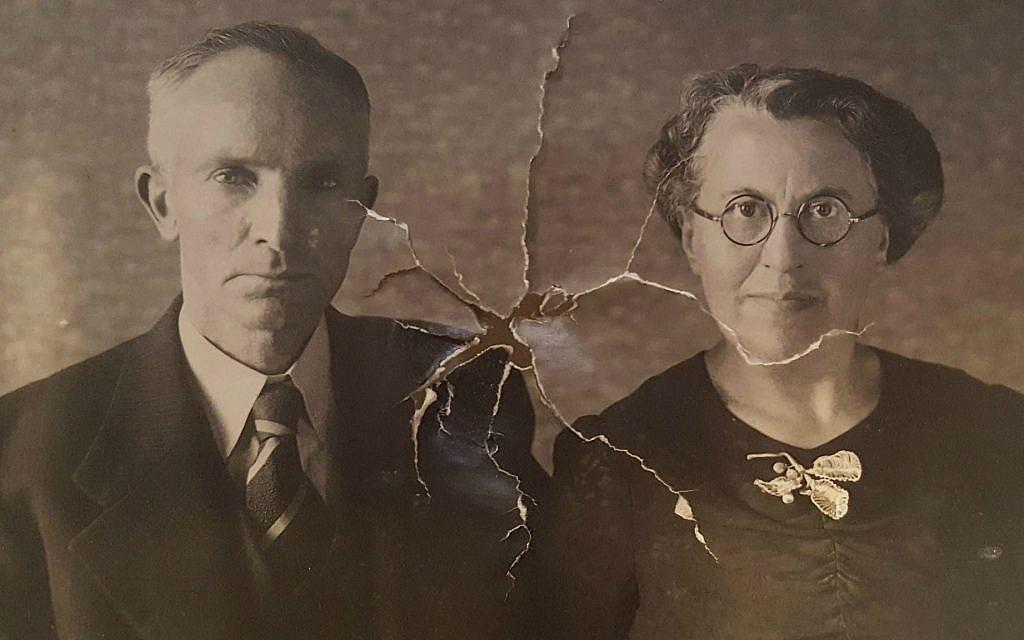 Une photo de Simon et Betsy van Dam retrouvée dans le portefeuille de Nathan van Dam qui a été restitué (Autorisation : Martine van Dam)