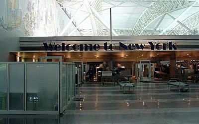 Terminal 9 JFK International Airport à New York (photo credit: Martin St-Amant/Wikimedia Commons/File)