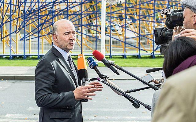 Pierre Moscovici (Crédit : Aron Urb (EU2017EE/CC 2.0)