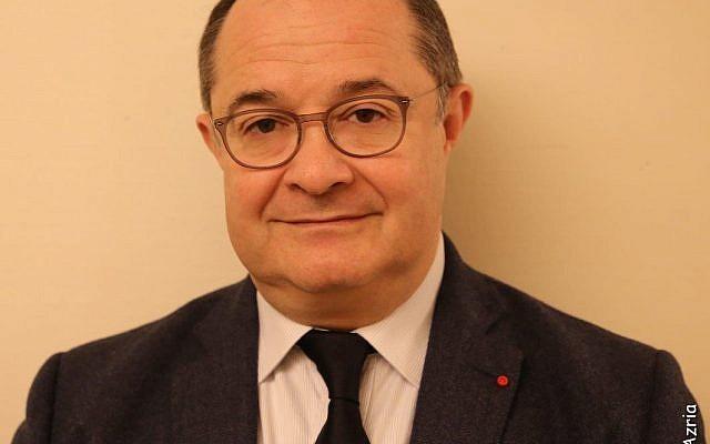 Ariel Goldmann, président de l'AUJF. (Crédit: Alain Azria - autorisation Ariel Goldmann)