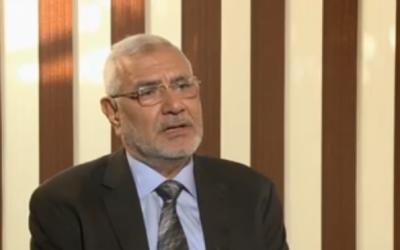 Abdel Moneim Aboul Foutouh (Crédit : capture d'écran You Tube)