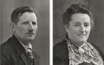 Lucienne et Albert Jouvelin distingués le 4 février du titre de Justes parmi les Nations pour le sauvetage de Solange Lehmann (Crédit: capture d'écran site de Yad Vashem)