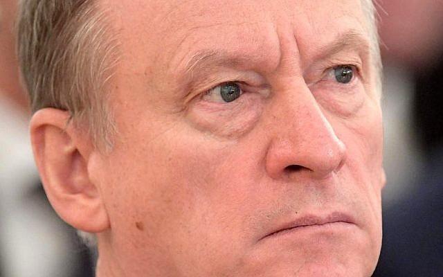 Nikolai Platonovich Patrushev, secrétaire du Conseil de sécurité russe (Crédit : CC BY 4.0 / Wikipedia)