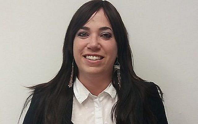 Havi Toker, première femme juge ultra-orthodoxe d'Israël (publiée avec autorisation)