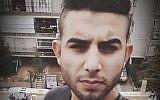 Abed al-Karim Assi sur un post Facebook, le 30 décembre 2017 (Capture d'écran : Facebook)