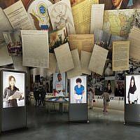 Conceptualisation du musée de l'Holocauste et des droits de l'homme construction à Dallas, au Texas, dont l'ouverture est prévue en 2019, créé par Berenbaum Jacobs Associates (Autorisation)