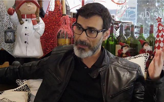 Claude El Khal, correspondant Moyen Orient du Media (Crédit: capture d'écran Youtube/Y Chats)