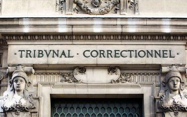 Le tribunal correctionnel de Paris, en janvier 2011. (Crédit : LOIC VENANCE / AFP)