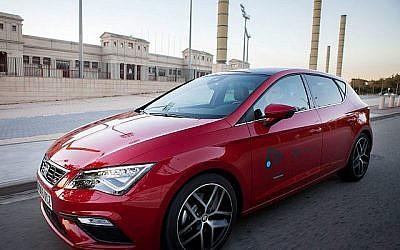 SEAT présentera sa voiture-concept Leon Cristobel qui proposera la technologie de vision par ordinateur développée par les technologies eyeSight d'Israel au salon Mobile World Congress 2018 à Barcelone le 26 février 2018 (Courtesy SEAT)