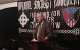 Le leader néo-nazi Arthur Jones parle au Kentucky, en avril 2017 (capture d'écran YouTube)