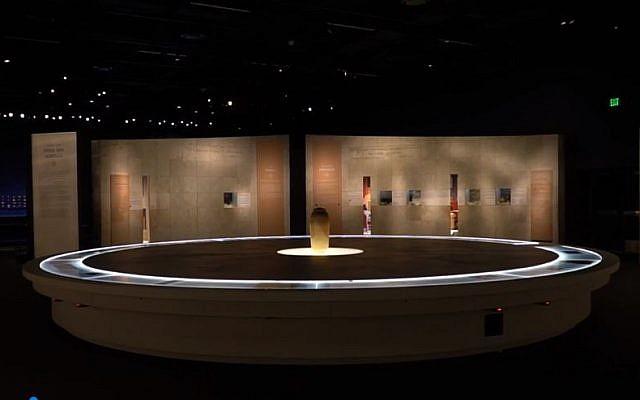Exposition de I'Autorité israélienne des antiquités au Musée de la nature et des sciences de Denver (Yoli Shwartz, Autorité israélienne des antiquités)