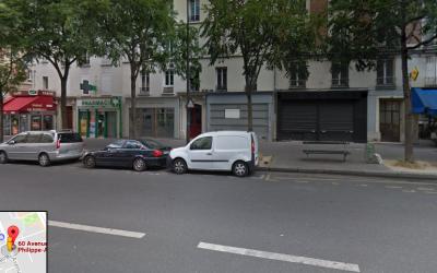 L'avenue Philippe Auguste dans le 11e arrondissement de Paris (Crédit : capture d'écran Google Street View)