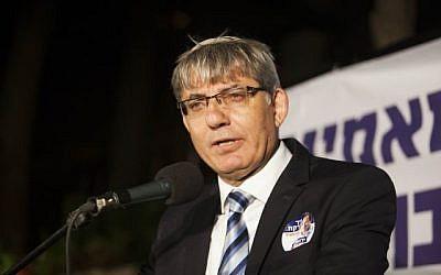 L'adjoint au maire de Jérusalem Meir Turgeman lors d'un événement à Jérusalem, le 1er septembre 2013 (Crédit :  Yonatan Sindel/Flash90)