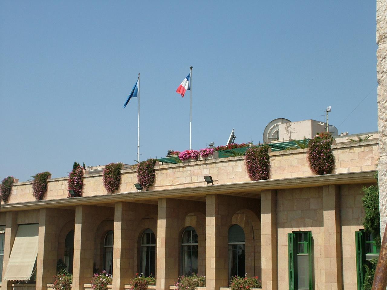 Arrestation d'un employé de la diplomatie française dans les Territoires palestiniens — Israël