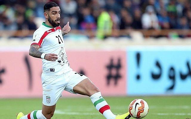 Le footballeur iranien Ashkan Dejagah (CC BY 4.0, Mahmoud Hosseini/Tasnim News Agency, Wikipedia)