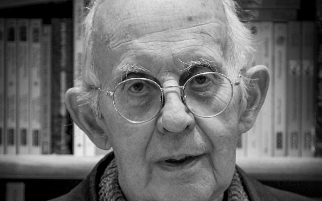 Le père Jean Dujardin, architecte du dialogue judéo-chrétien (1936-2018) (Crédit: Claude Truong-Ngoc / Wikimedia Commons)