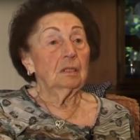 Sala Kirschner, survivante de l'Holocauste, dans une bande-annonce, publiée le 10 mars 2012, à propos d'un livre sur les lettres qu'elle a cachées aux nazis: «Sala's Gift». (Capture d'écran: YouTube)