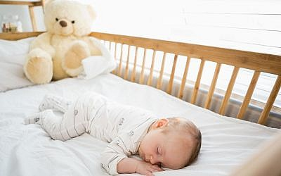 Illustration d'un bébé qui dort (iStock by Getty Images)