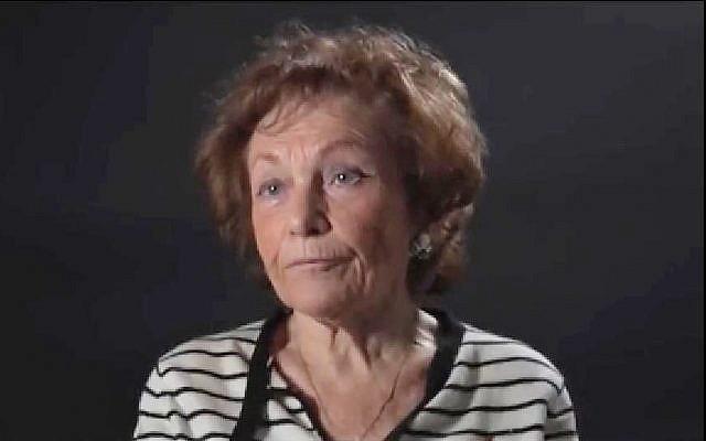 Isabelle Choko, rescapée et passeur de mémoire (Crédit: capture d'écran Youtube/Mémorial de la Shoah)